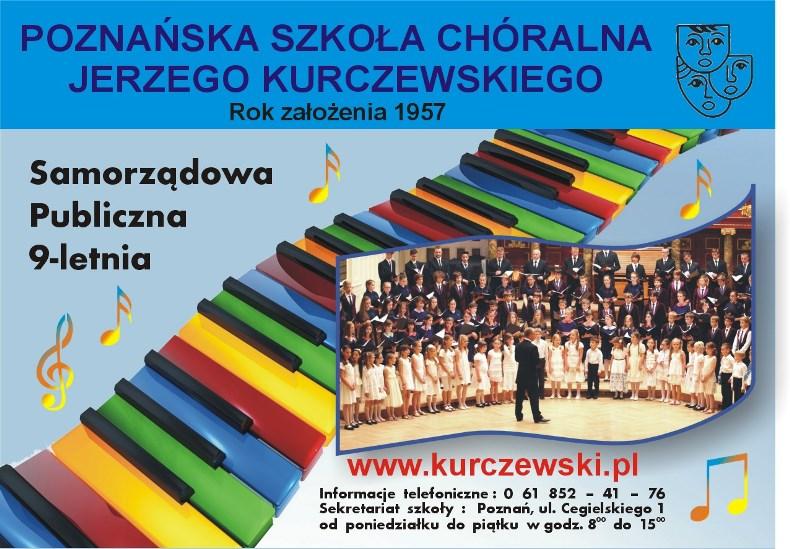 Ulotka szkoła chóralna