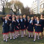 Zespół wokalny Akrywima z Poznańskiej Szkoły Chóralnej Jerzego Kurczewskiego