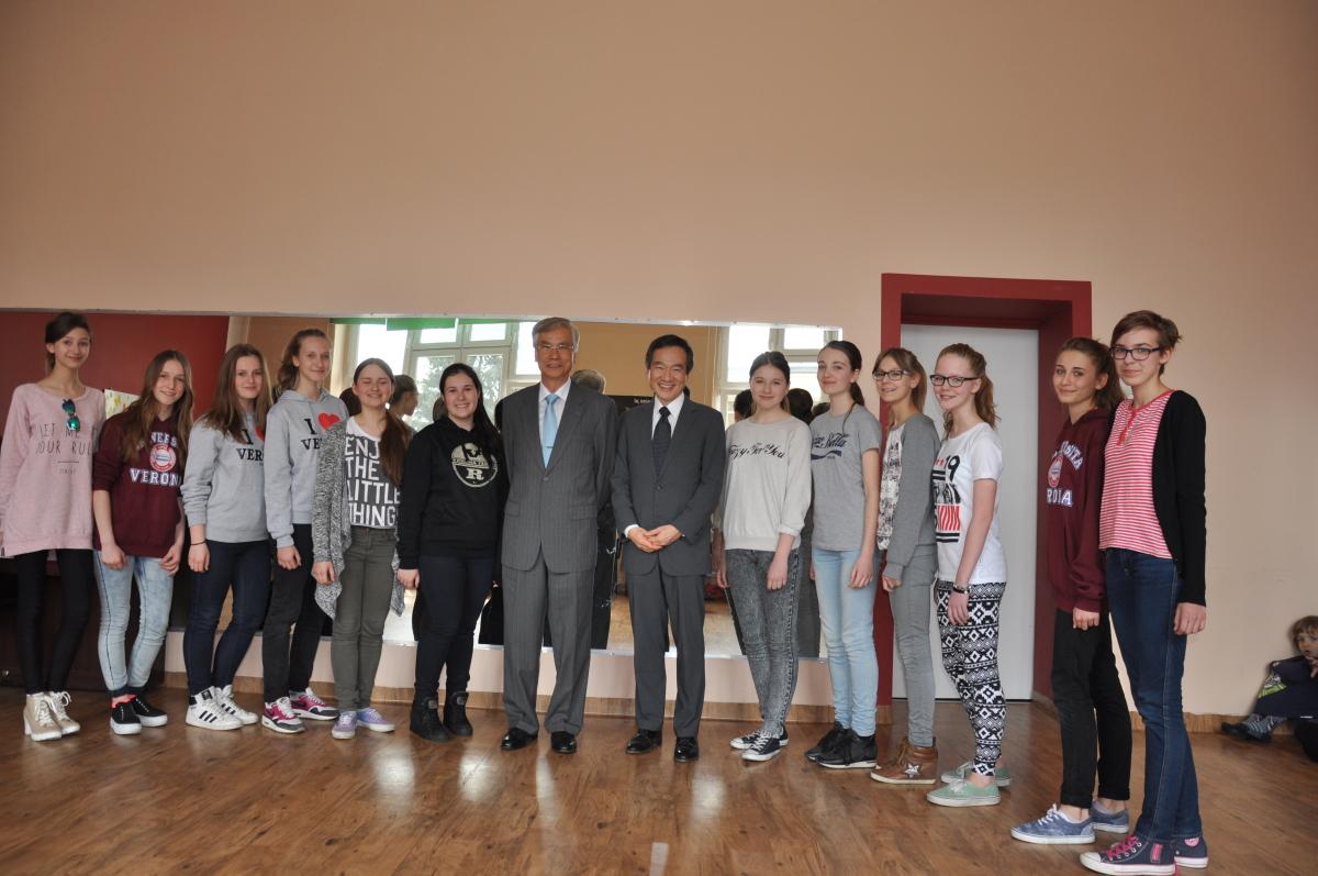 Wizyta ambasadora Tajwanu