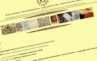 Wycieczka z klasą V do Biblioteki Poznańskiego Towarzystwa Nauk