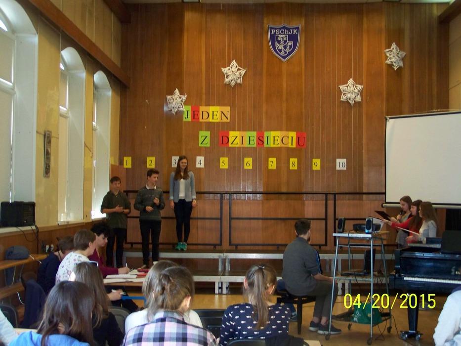 Konkurs dla uczniów klasy 9