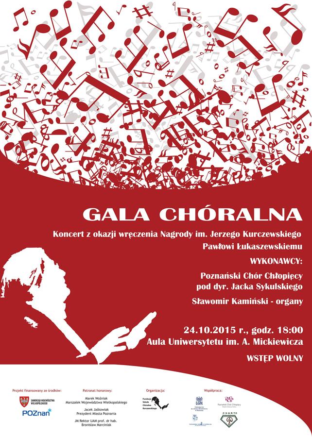 plakat-Gala Chóralna