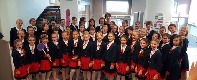 """Chór Dziewczęcy PSChJK zdobył Pierwszą Nagrodę na Ogólnopolskim Konkursie Chóralnym """"Lodziensis Cantat"""""""