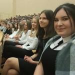 Absolwentki PSChJK podczas uroczystości wręczenia nagród
